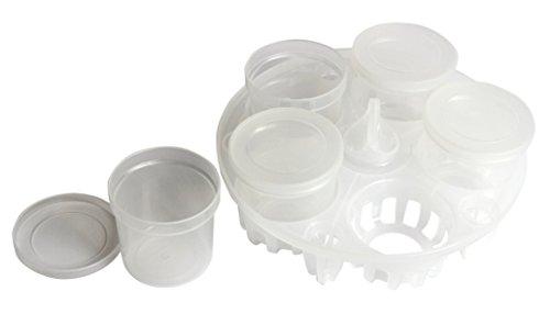 Instant Pot Yogurt Cups and Pressure Sterilization Rack