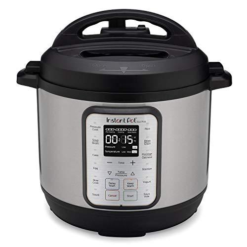 Instant Pot Duo Plus 6 Quart 9-in-1 Electric Pressure Cooker, Slow Cooker, Rice Cooker, Steamer, Saute, Yogurt Maker, Warmer & Sterilizer, 15 One-Touch Programs