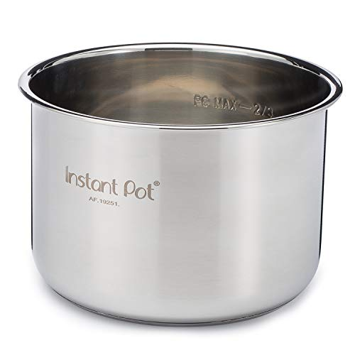 Instant Pot Stainless Steel Inner Cooking Pot - 6 Quart