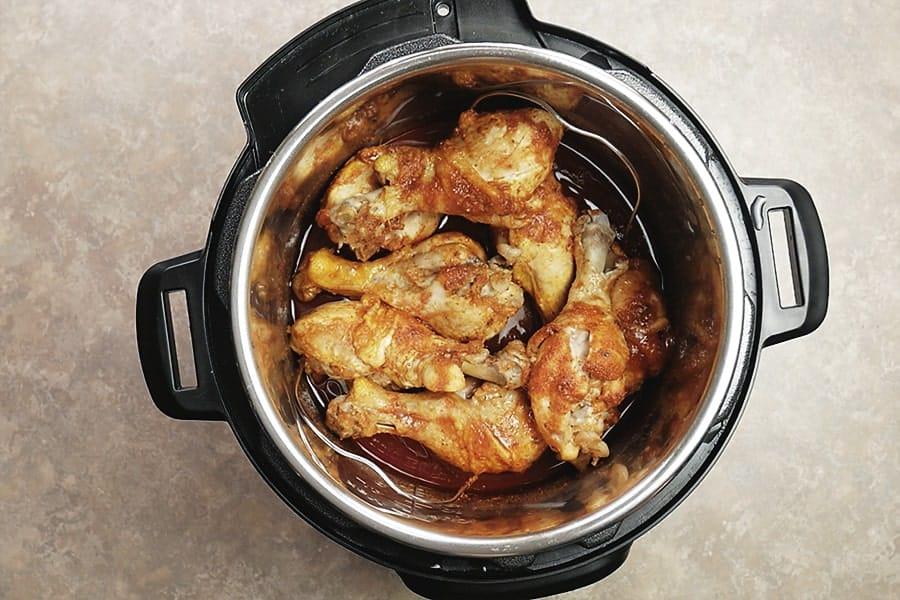 Instant Pot Chicken BBQ